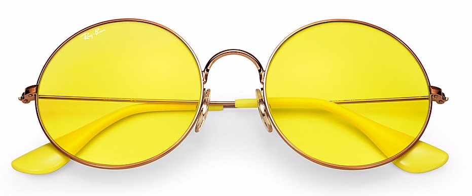 Ray-Ban lente colorida