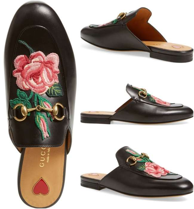 mule loafers gucci Princetown leather slipper