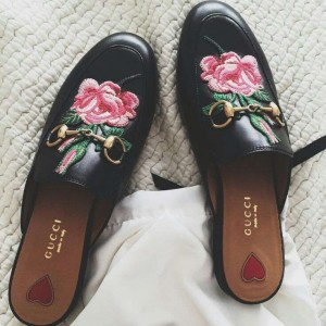 Princetown leather slipper Gucci Mule loafers